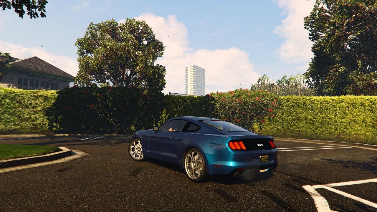 Ford Mustang GT 2015 v0.1 для GTA V - Скриншот 2