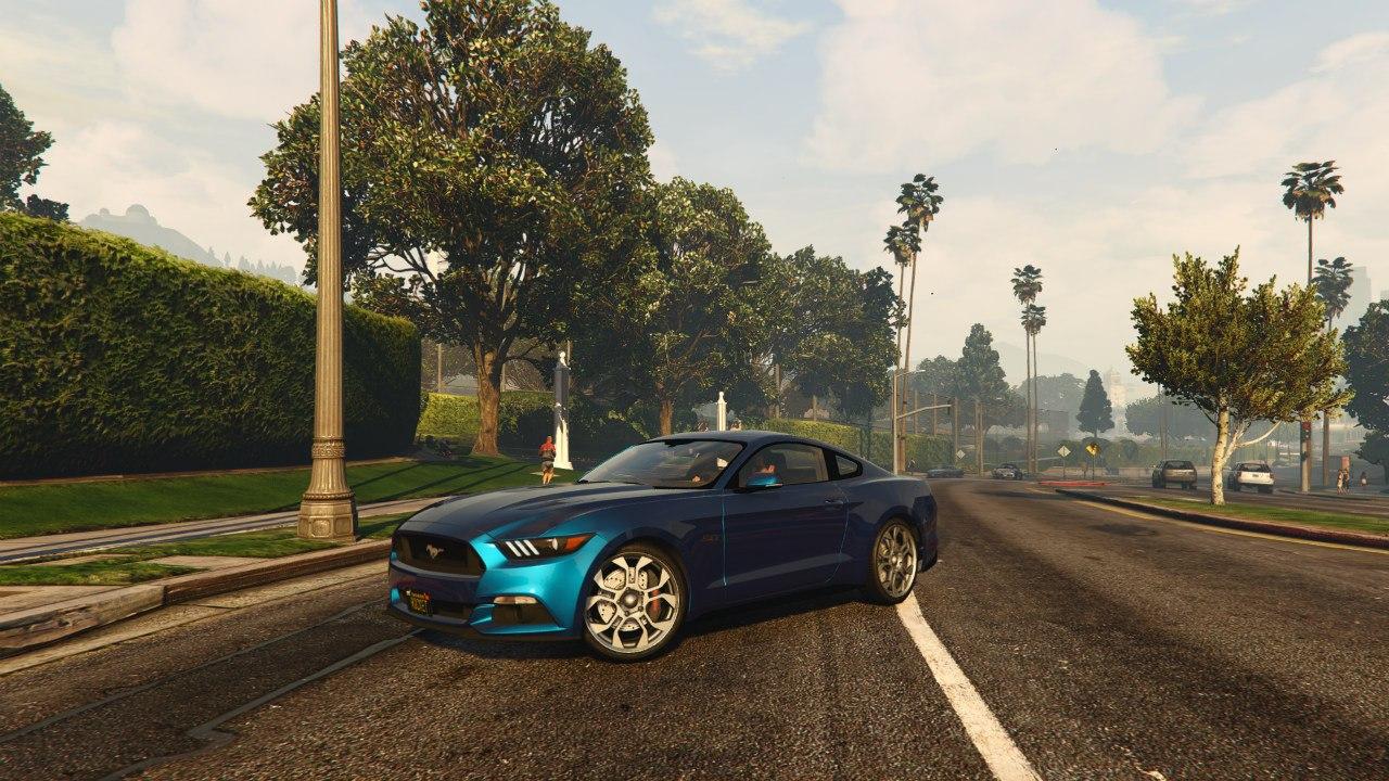 Ford Mustang GT 2015 v0.1 для GTA V - Скриншот 3