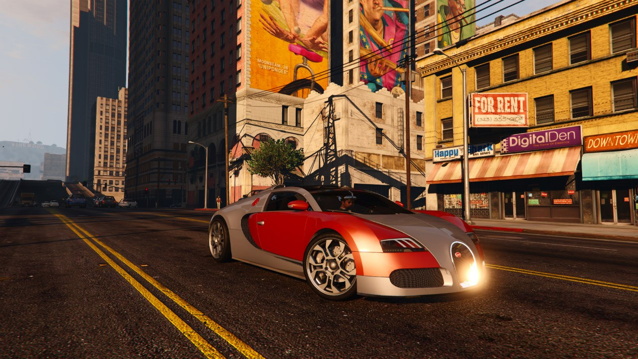 Bugatti Veyron Grand Sport v4.0 [Final] для GTA V - Скриншот 2