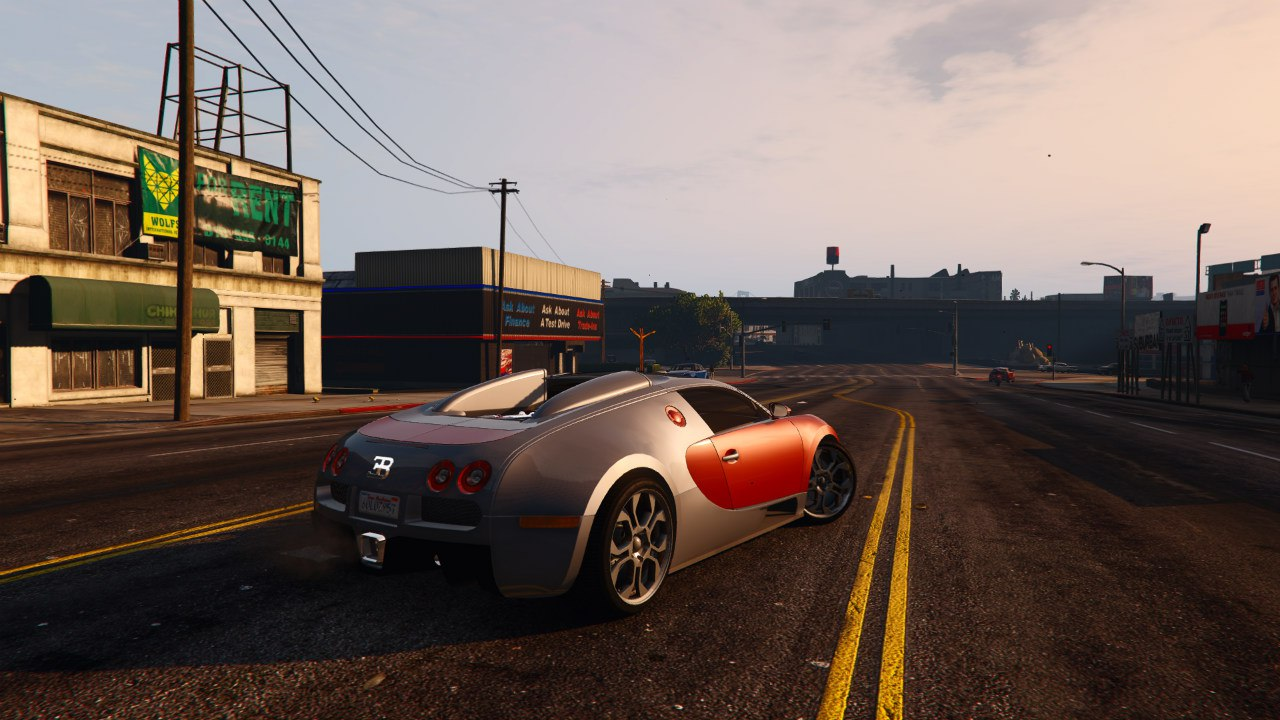 Bugatti Veyron Grand Sport v4.0 [Final] для GTA V - Скриншот 3