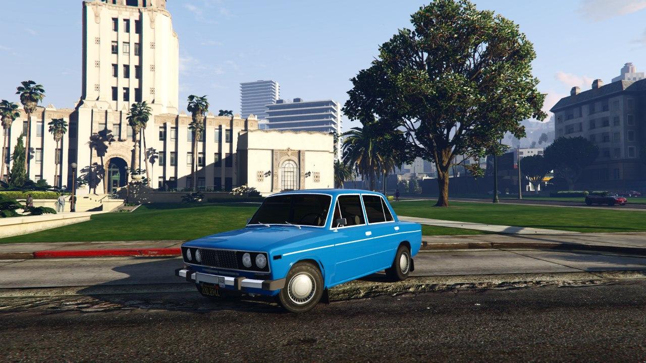 ВАЗ-2106 v0.2 для GTA V - Скриншот 1