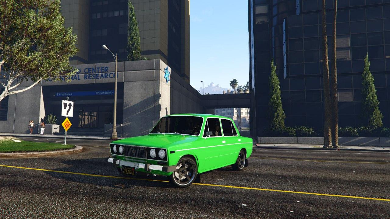 ВАЗ-2106 v0.2 для GTA V - Скриншот 2