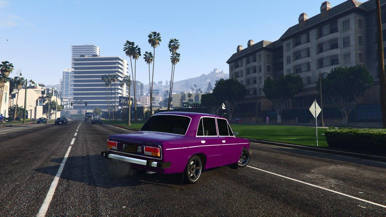 ВАЗ-2106 v0.2 для GTA V - Скриншот 3