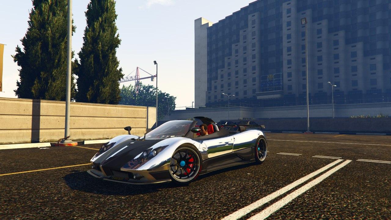 Pagani Zonda Cinque Roadster v1.1 для GTA V - Скриншот 2