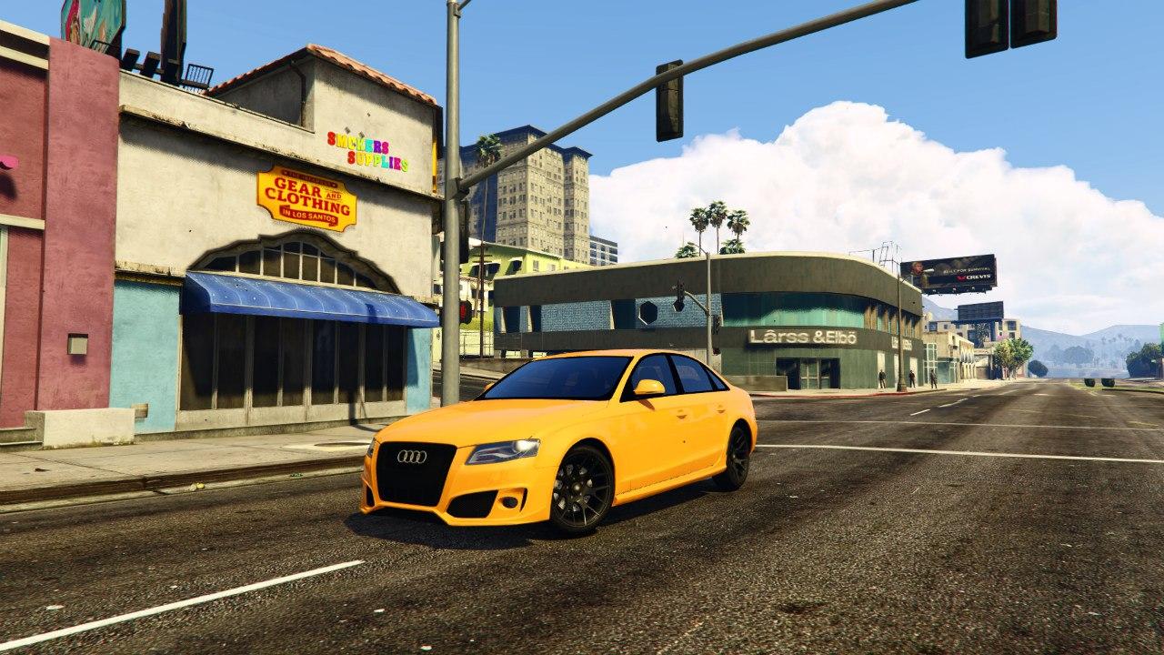 Audi S4 v0.1 для GTA V - Скриншот 1