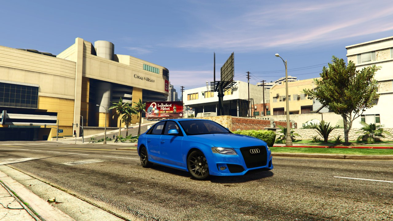 Audi S4 v0.1 для GTA V - Скриншот 2