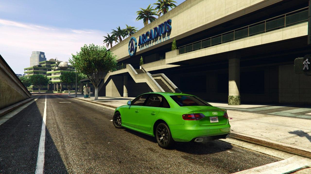 Audi S4 v0.1 для GTA V - Скриншот 3