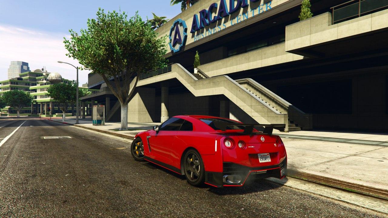 2015 Nissan GTR Nismo v1.2 для GTA V - Скриншот 1