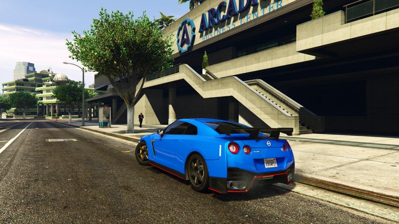 2015 Nissan GTR Nismo v1.2 для GTA V - Скриншот 2