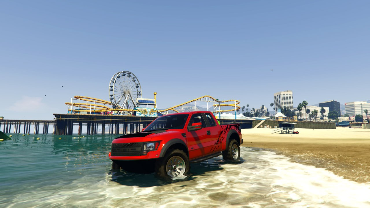 2012 Ford F150 SVT Raptor v0.1 для GTA V - Скриншот 1