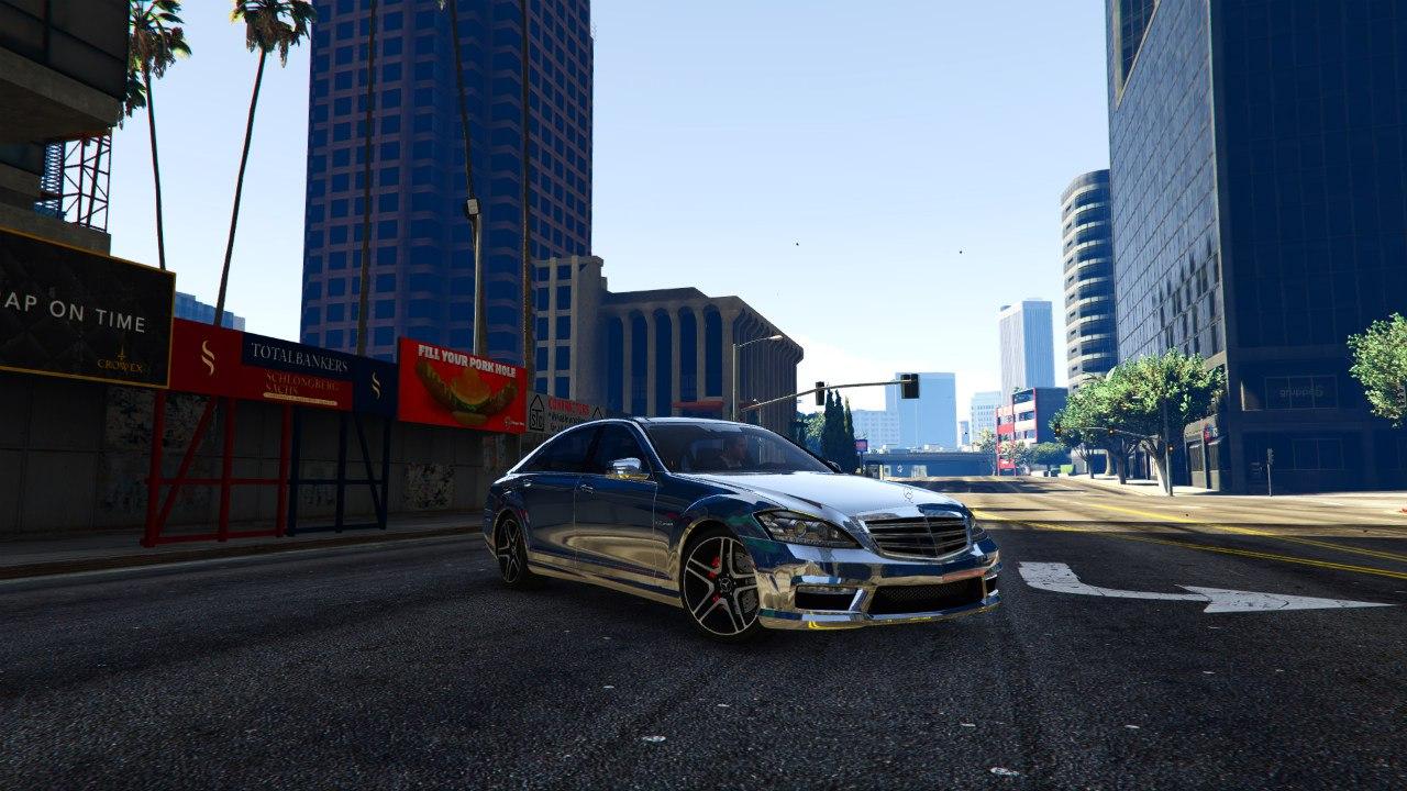 Mercedes-Benz S65 AMG 2012 v0.9 для GTA V - Скриншот 1