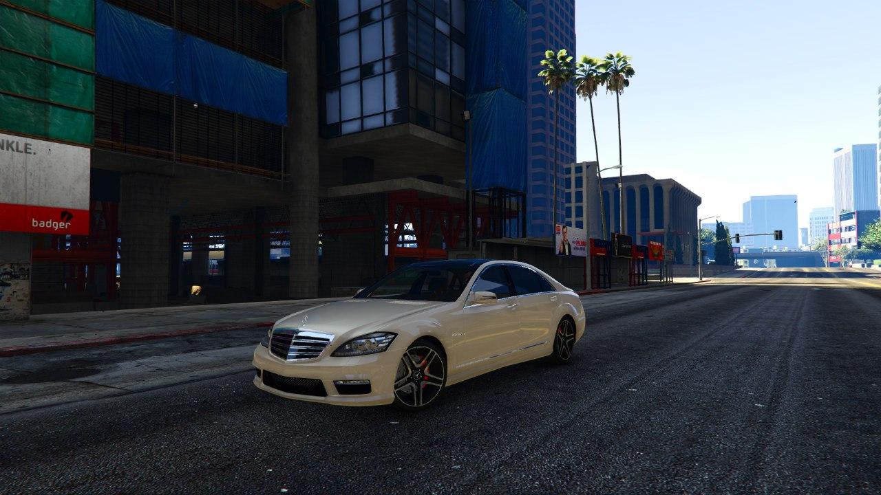 Mercedes-Benz S65 AMG 2012 v0.9 для GTA V - Скриншот 2