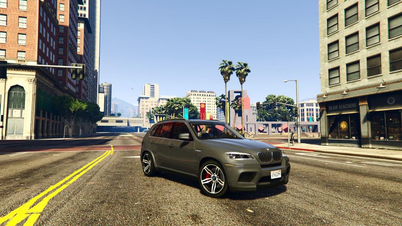 BMW X5M 2013 v1.01 для GTA V - Скриншот 1