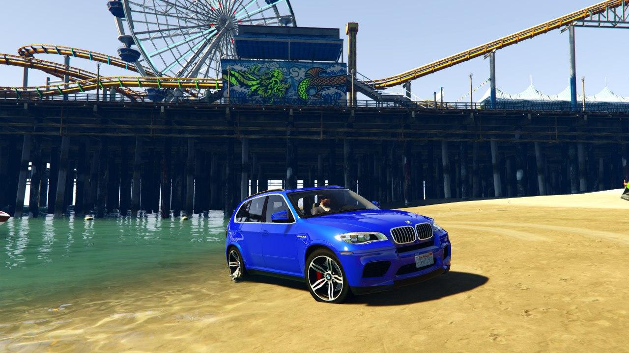 BMW X5M 2013 v1.01 для GTA V - Скриншот 3