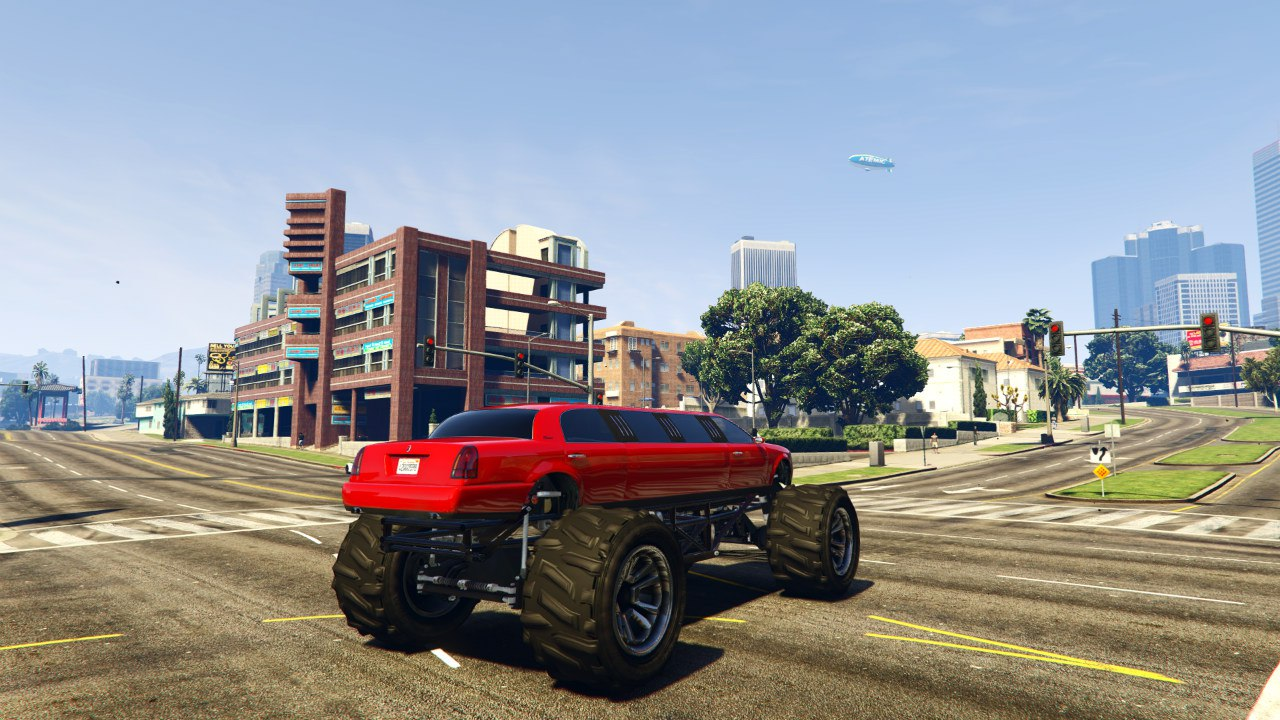 Лимузин-монстр(Monster Limo) для GTA V - Скриншот 2