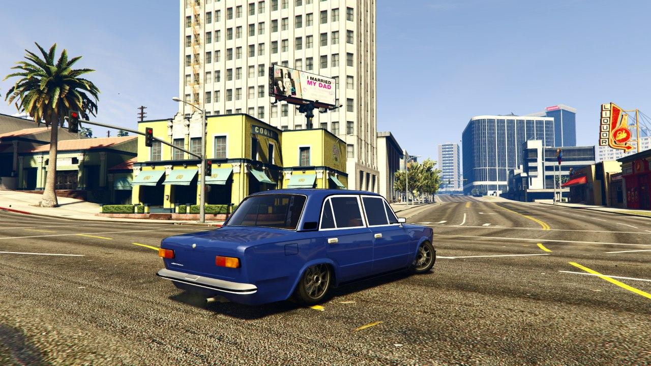 ВАЗ 2101(VAZ 2101) для GTA V - Скриншот 1