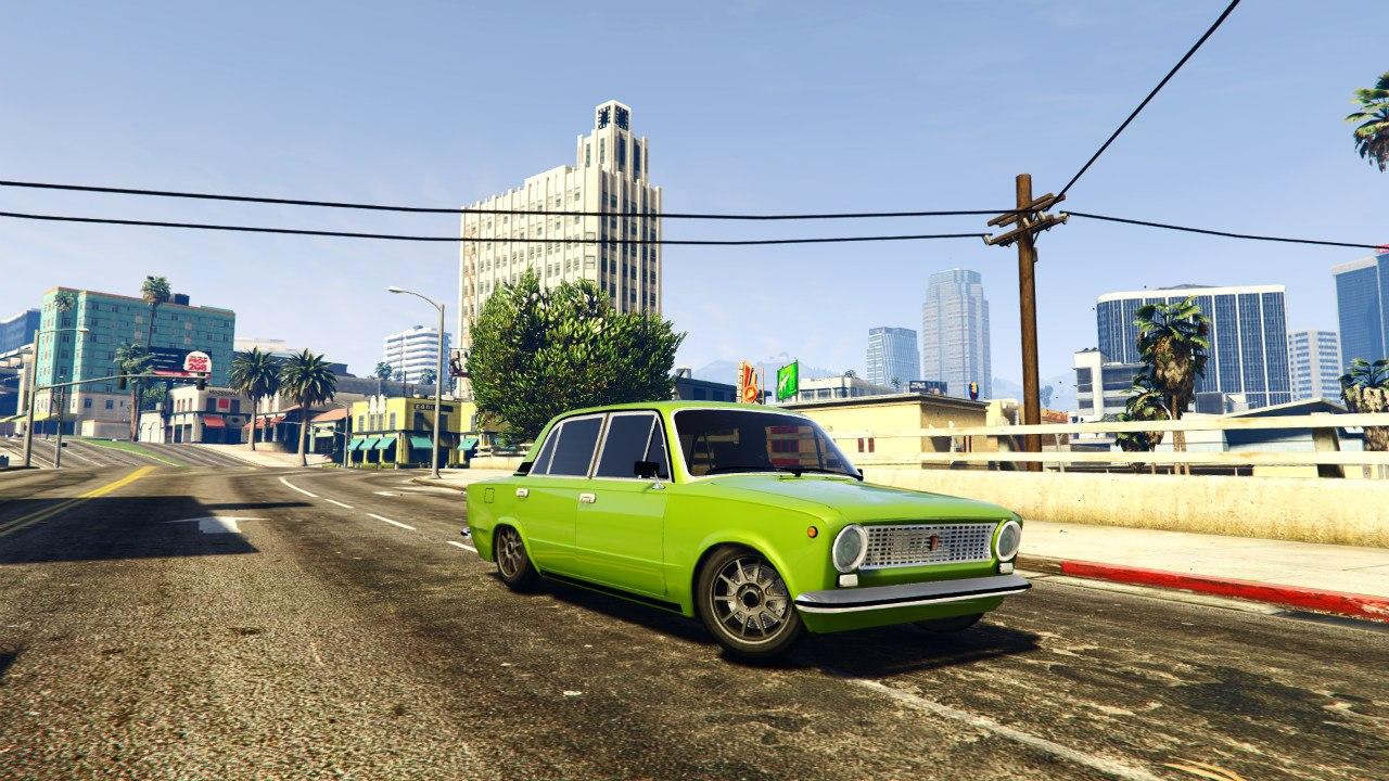 ВАЗ 2101(VAZ 2101) для GTA V - Скриншот 2