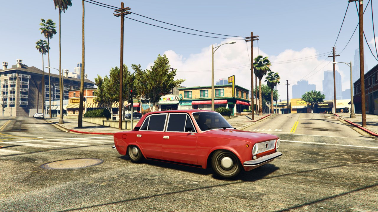 ВАЗ 2101(VAZ 2101) для GTA V - Скриншот 3