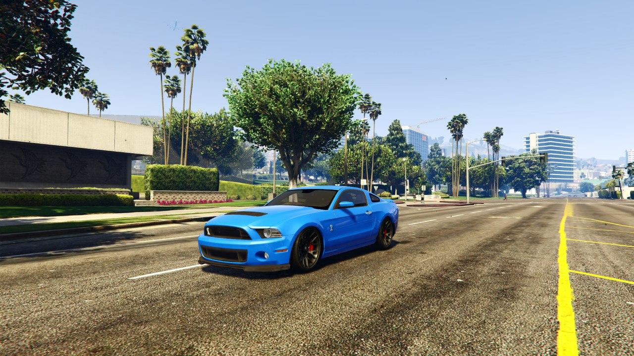 2013 Ford Mustang Shelby GT500 v0.1 для GTA V - Скриншот 1