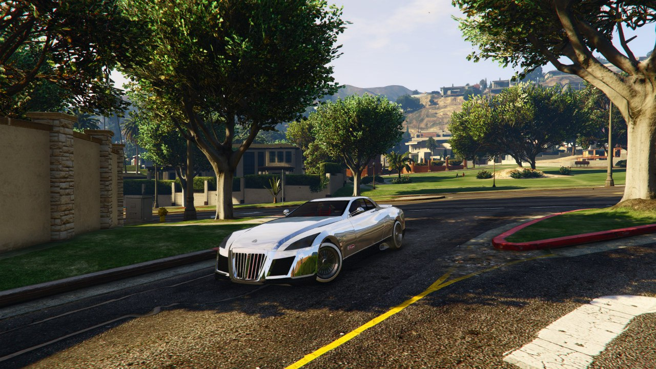 Maybach Exelero v0.5 для GTA V - Скриншот 3