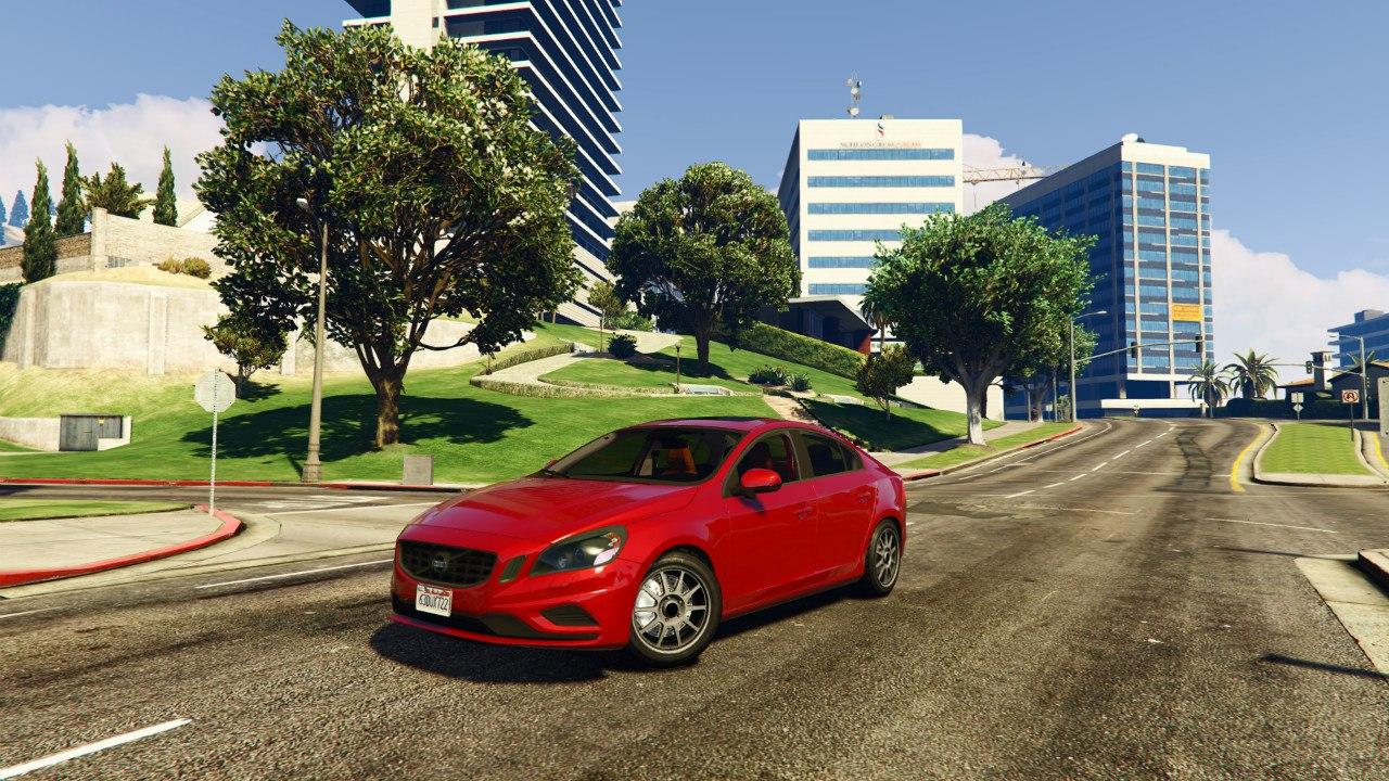 Volvo S60 v0.1 для GTA V - Скриншот 1