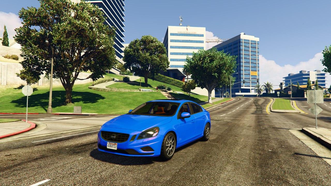 Volvo S60 v0.1 для GTA V - Скриншот 3