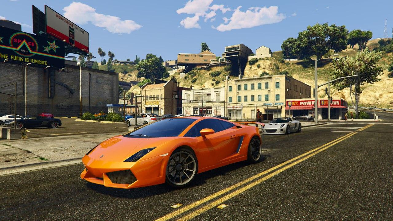 Lamborghini Gallardo LP560-4 v1.0 для GTA V - Скриншот 1