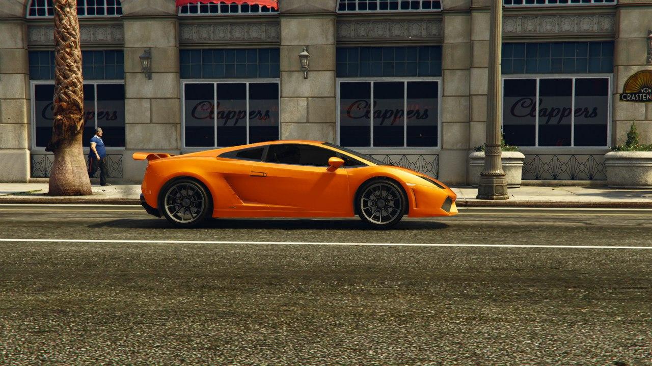 Lamborghini Gallardo LP560-4 v1.0 для GTA V - Скриншот 2