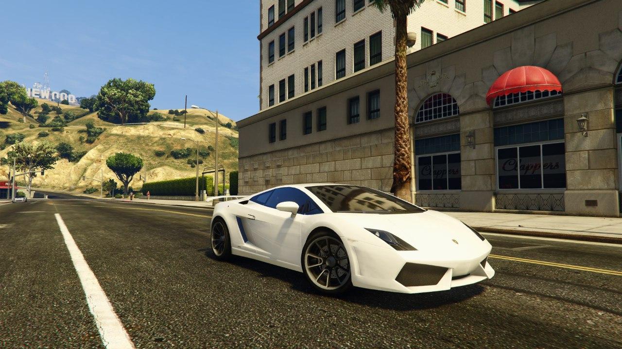 Lamborghini Gallardo LP560-4 v1.0 для GTA V - Скриншот 3