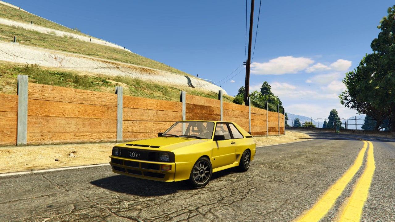 Audi Quattro Sport v1.0 для GTA V - Скриншот 2