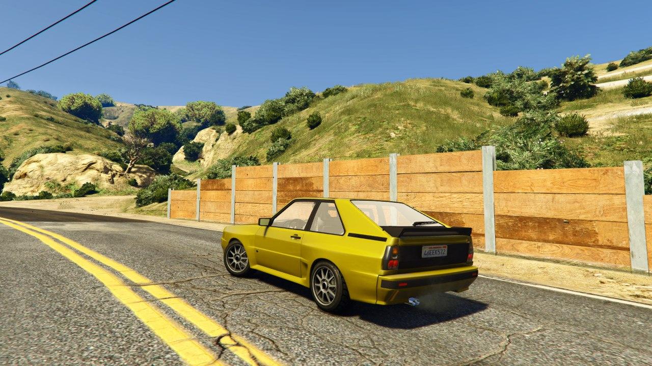 Audi Quattro Sport v1.0 для GTA V - Скриншот 3