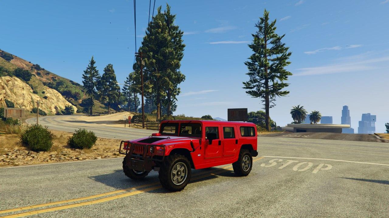 Hummer H1 v0.1 для GTA V - Скриншот 1