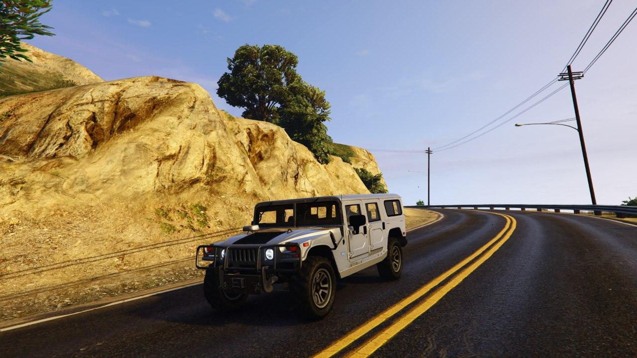Hummer H1 v0.1 для GTA V - Скриншот 3