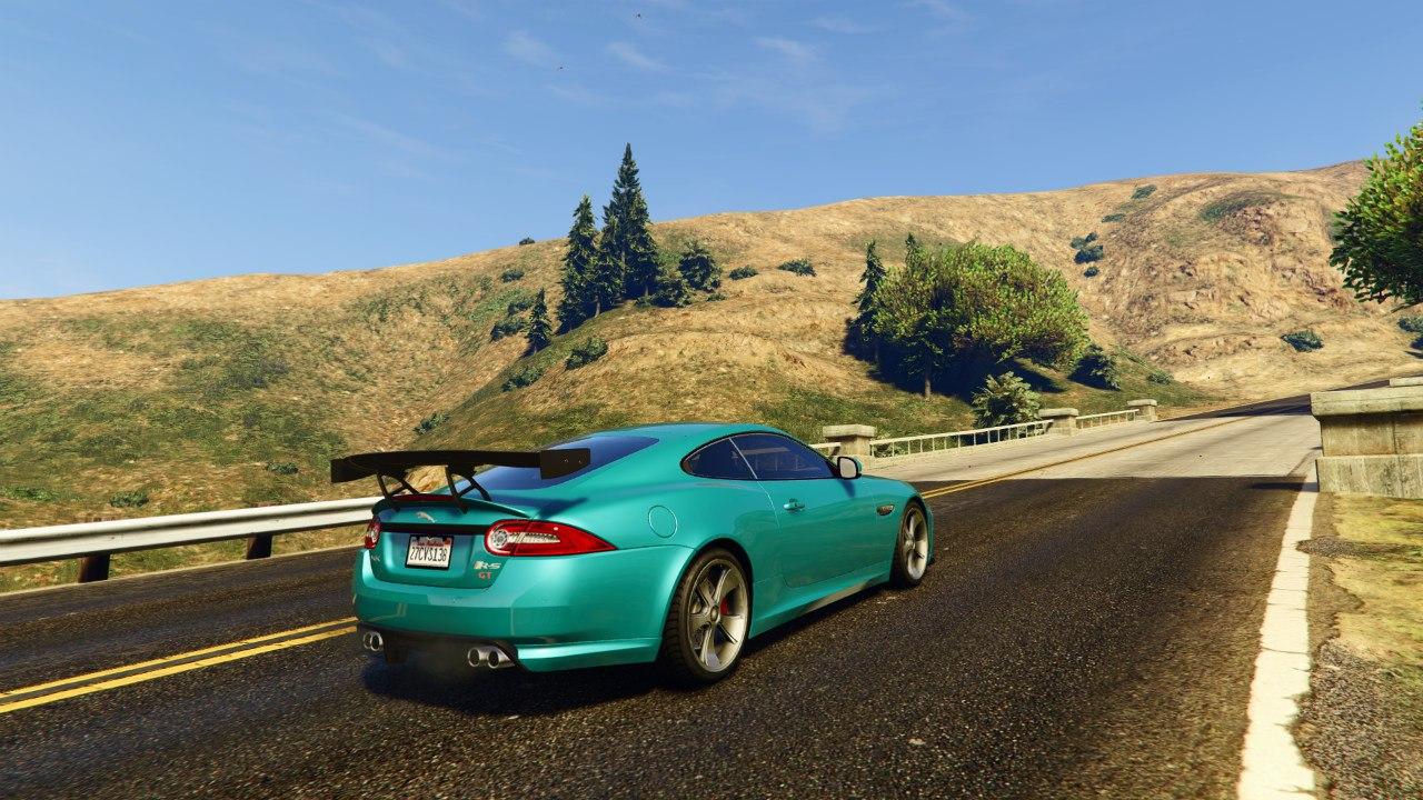 Jaguar XKR-S GT 2013 для GTA V - Скриншот 2