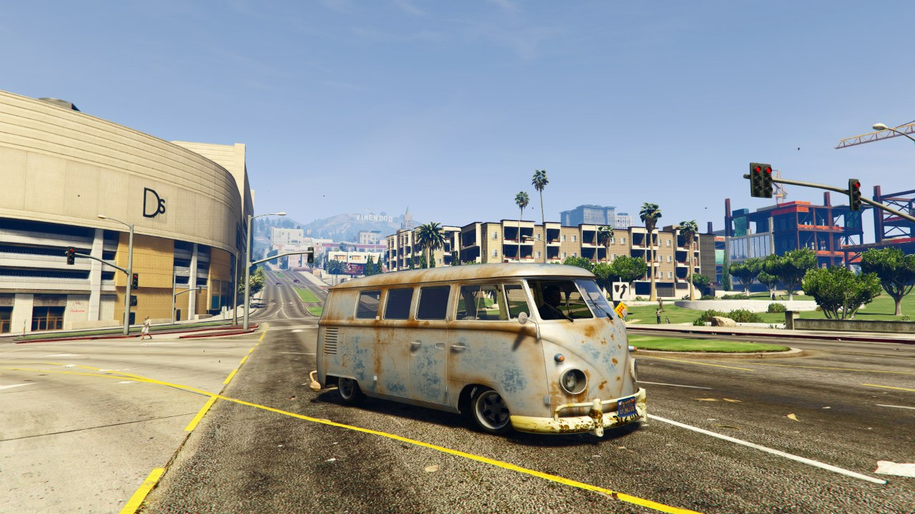 1960 Volkswagen Bus (Rat) 1.0 [BETA] для GTA V - Скриншот 1