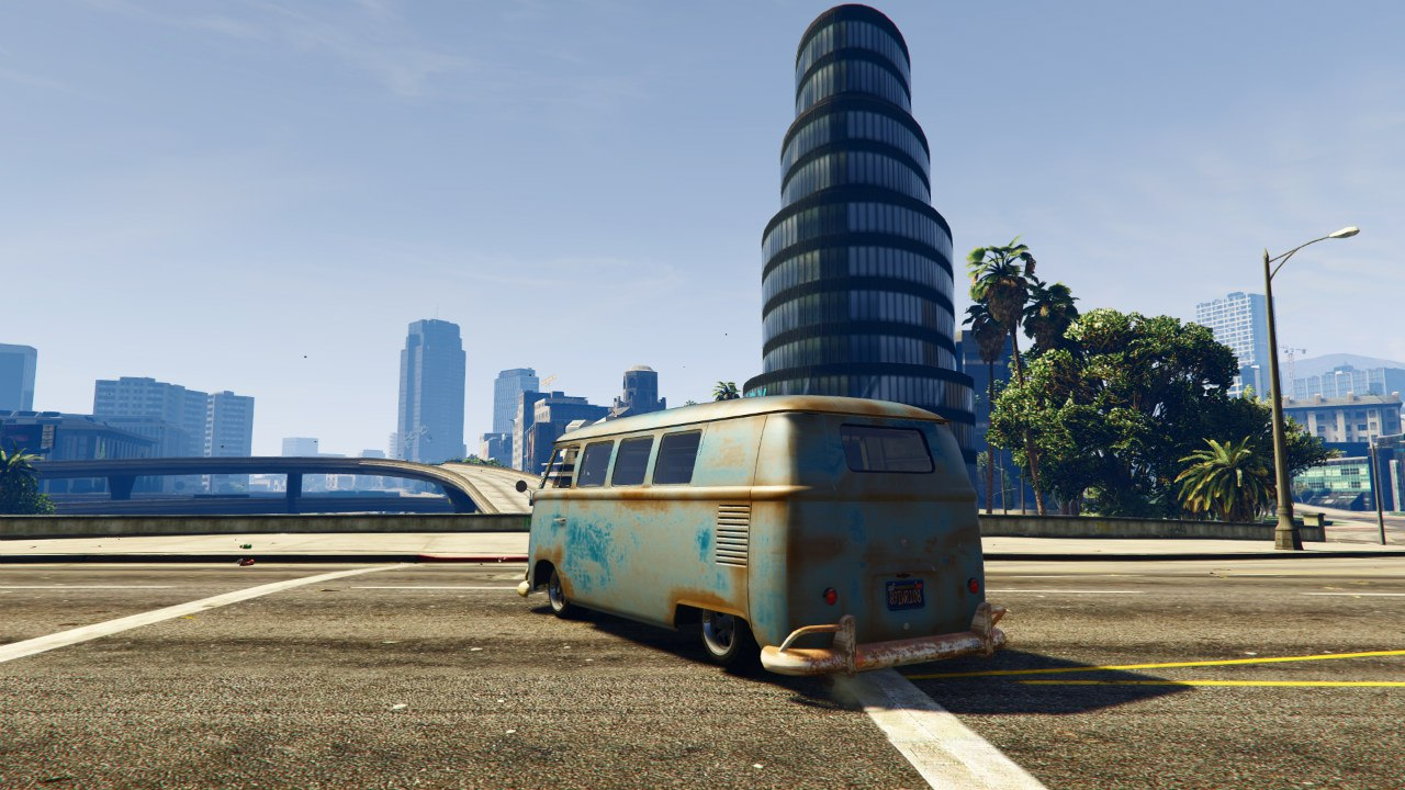 1960 Volkswagen Bus (Rat) 1.0 [BETA] для GTA V - Скриншот 3