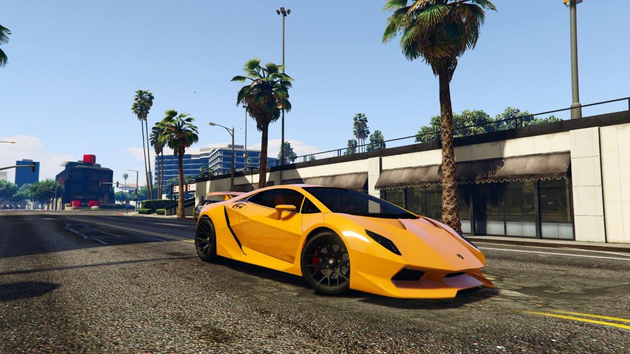 Lamborghini Sesto Elemento 0.5 для GTA V - Скриншот 2