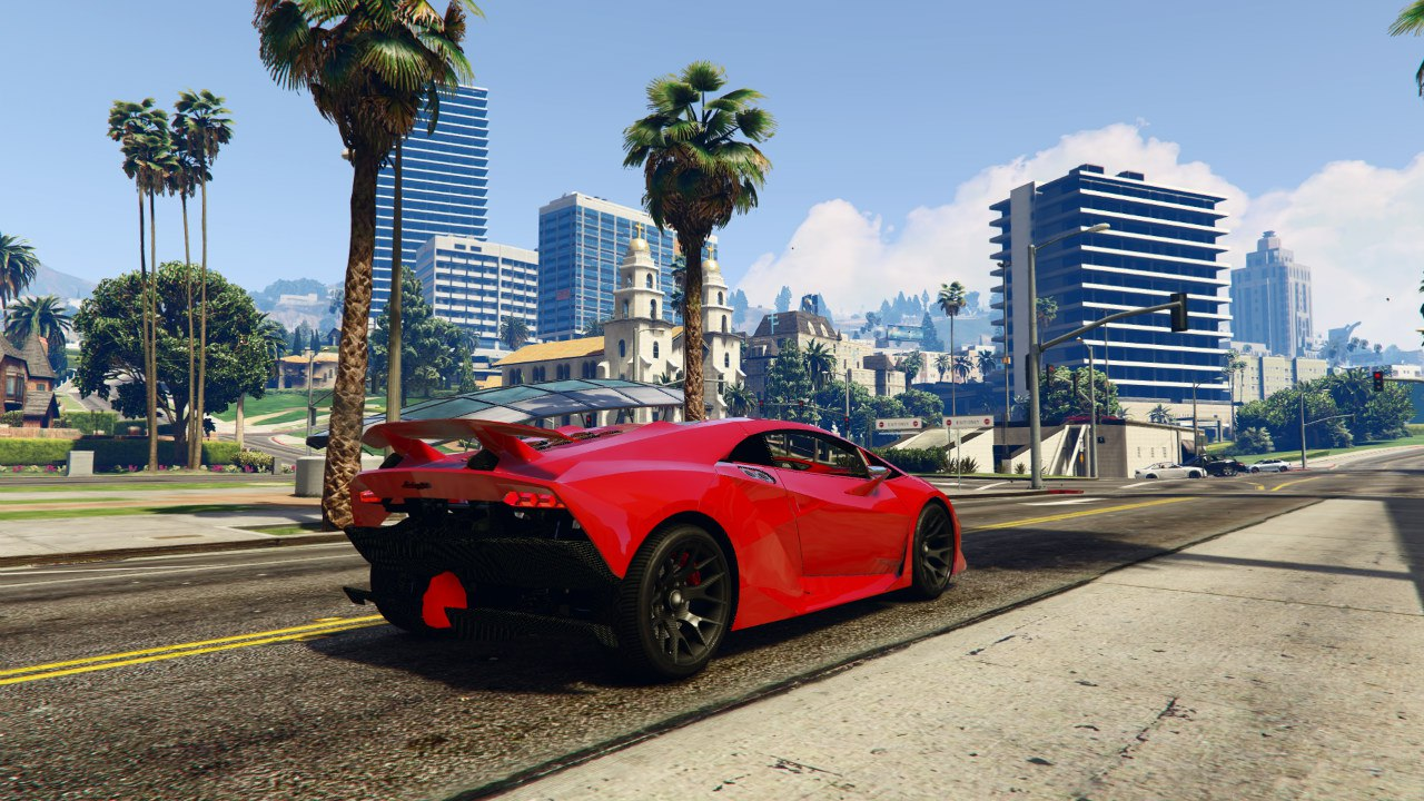 Lamborghini Sesto Elemento 0.5 для GTA V - Скриншот 3