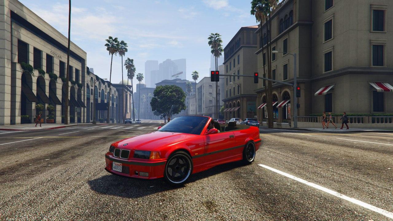 BMW M3 E36 Cabriolet 1997 v0.1 для GTA V - Скриншот 1