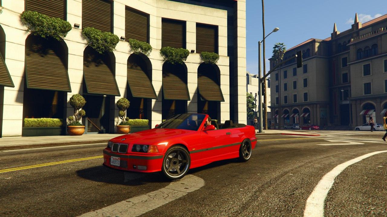 BMW M3 E36 Cabriolet 1997 v0.1 для GTA V - Скриншот 2