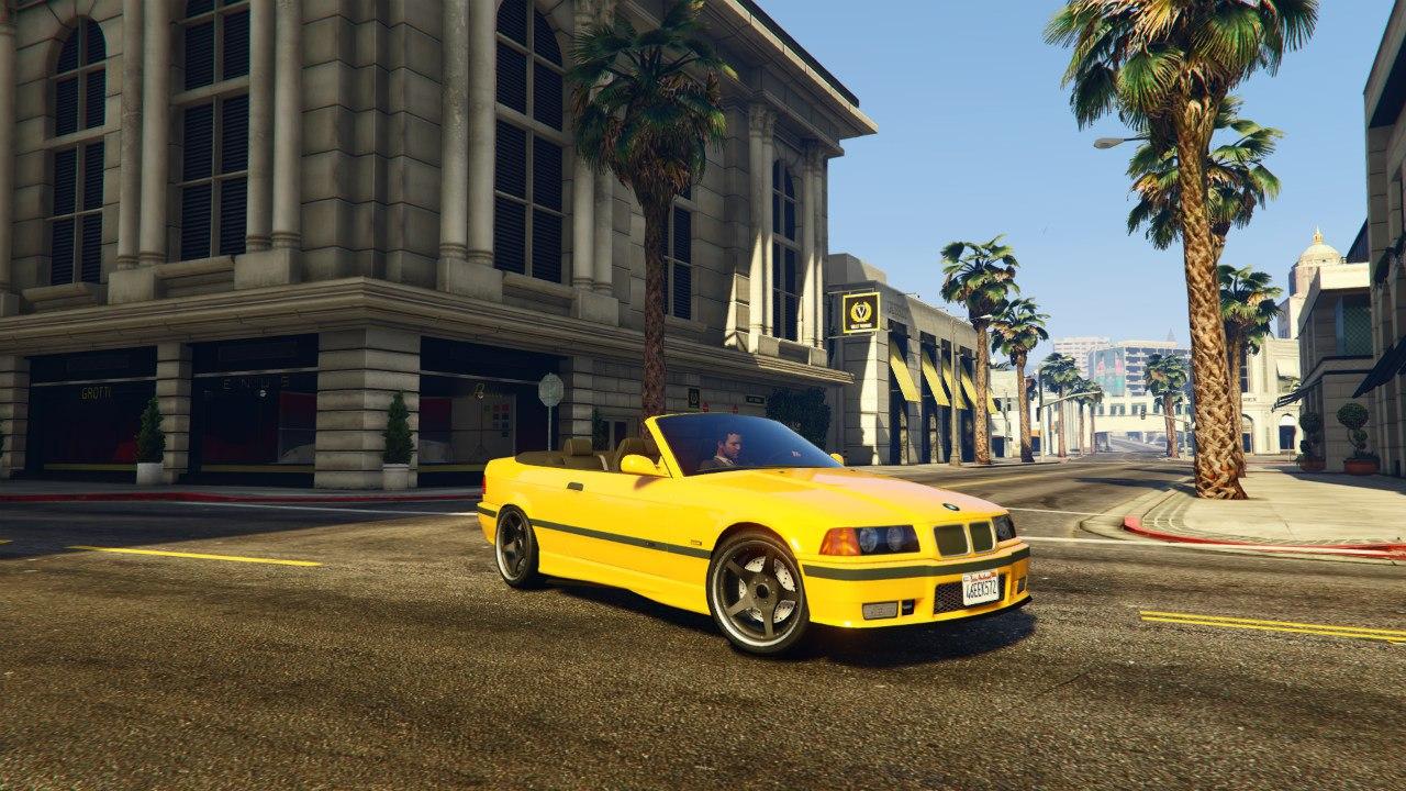 BMW M3 E36 Cabriolet 1997 v0.1 для GTA V - Скриншот 3