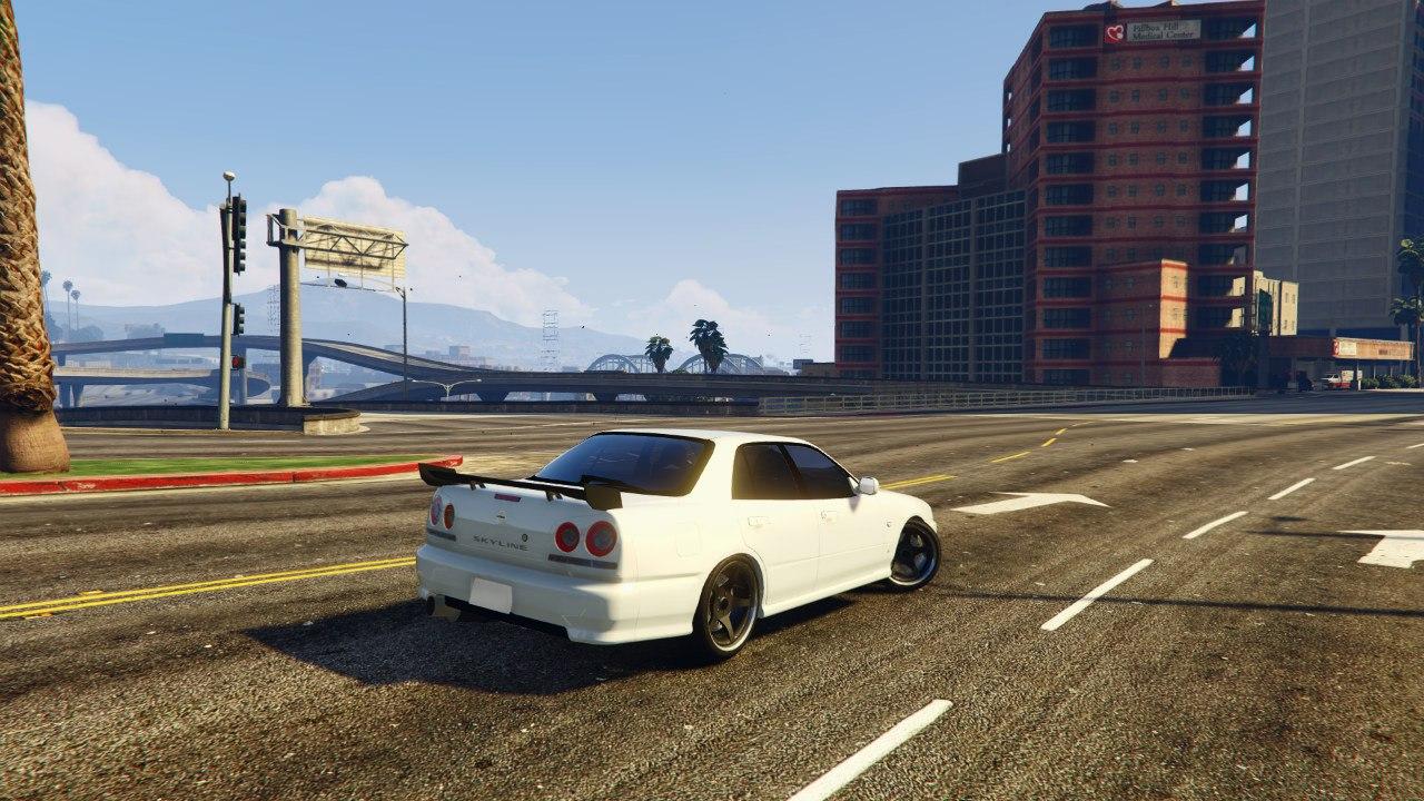 Nissan Skyline ER34 v0.1 для GTA V - Скриншот 2