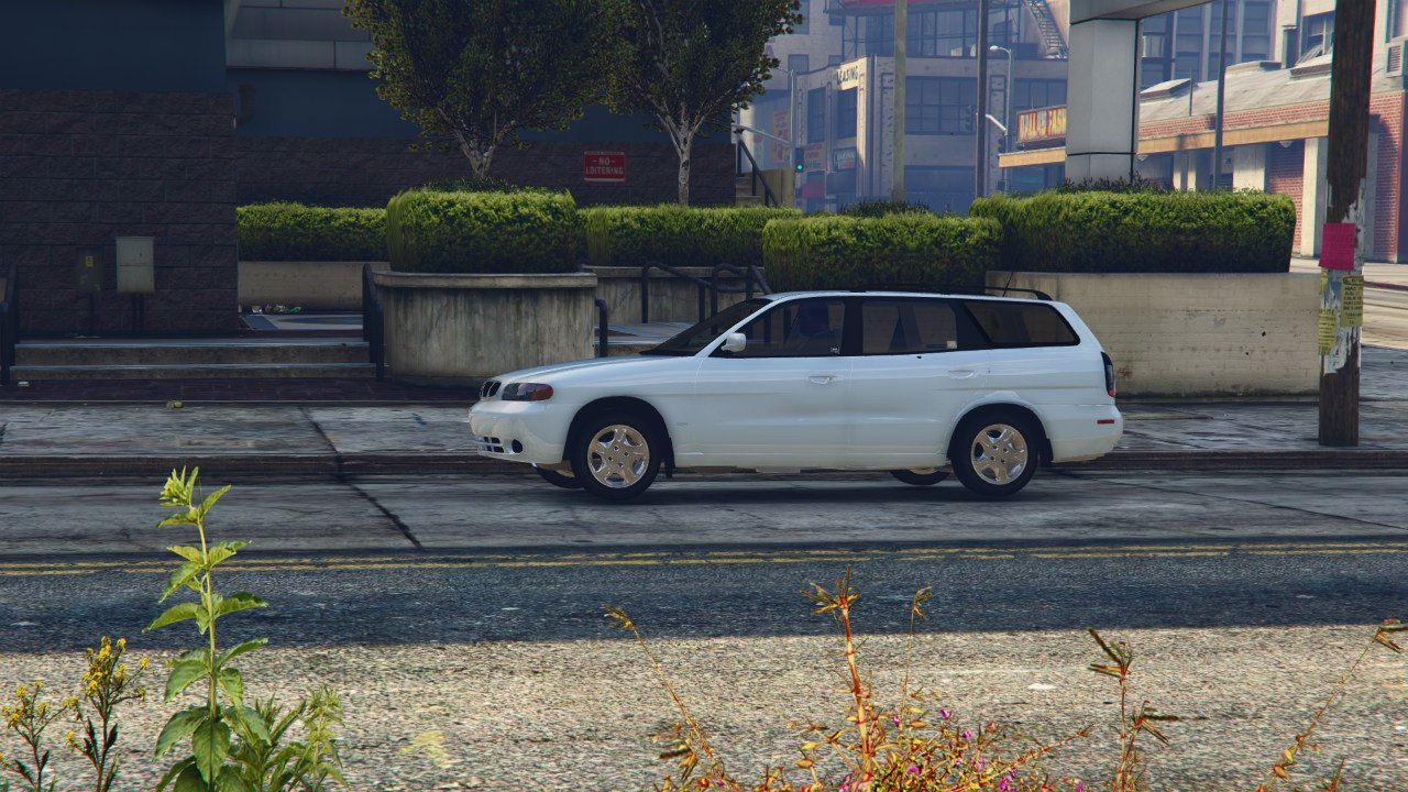 1999 Daewoo Nubira I Wagon CDX US v2.0 [Final] для GTA V - Скриншот 3