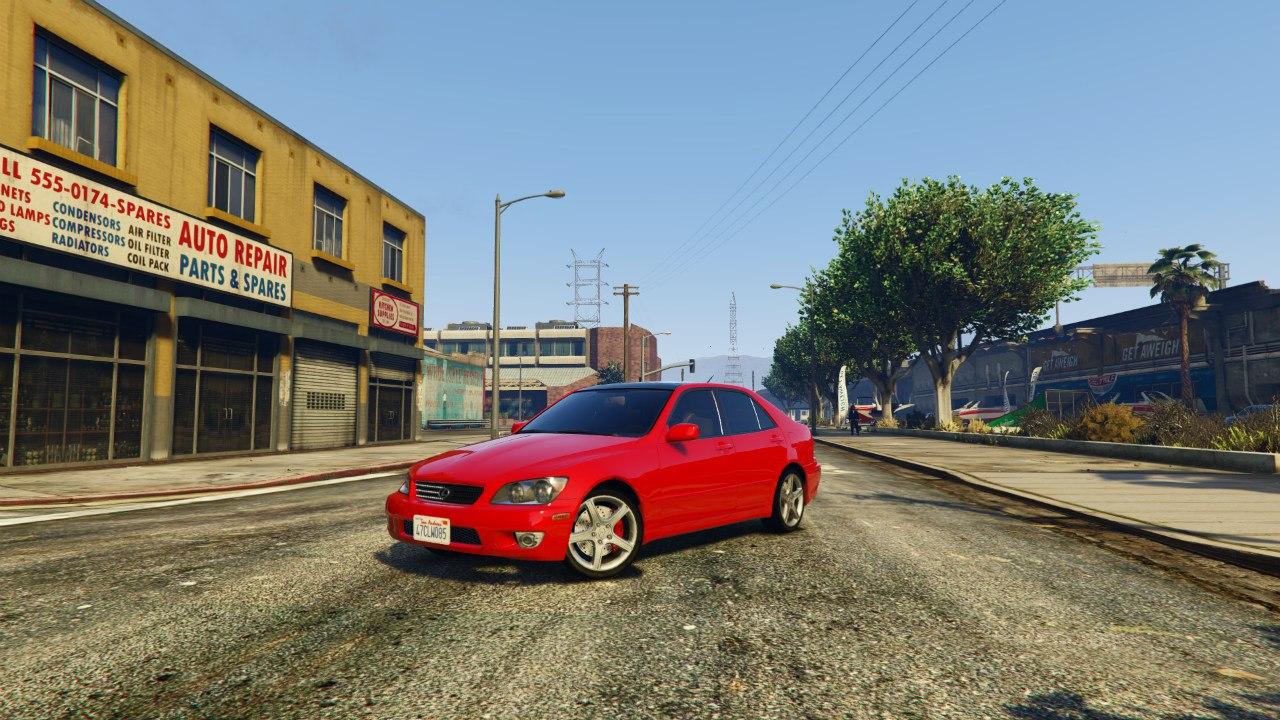 Lexus IS300 v1.0 для GTA V - Скриншот 1
