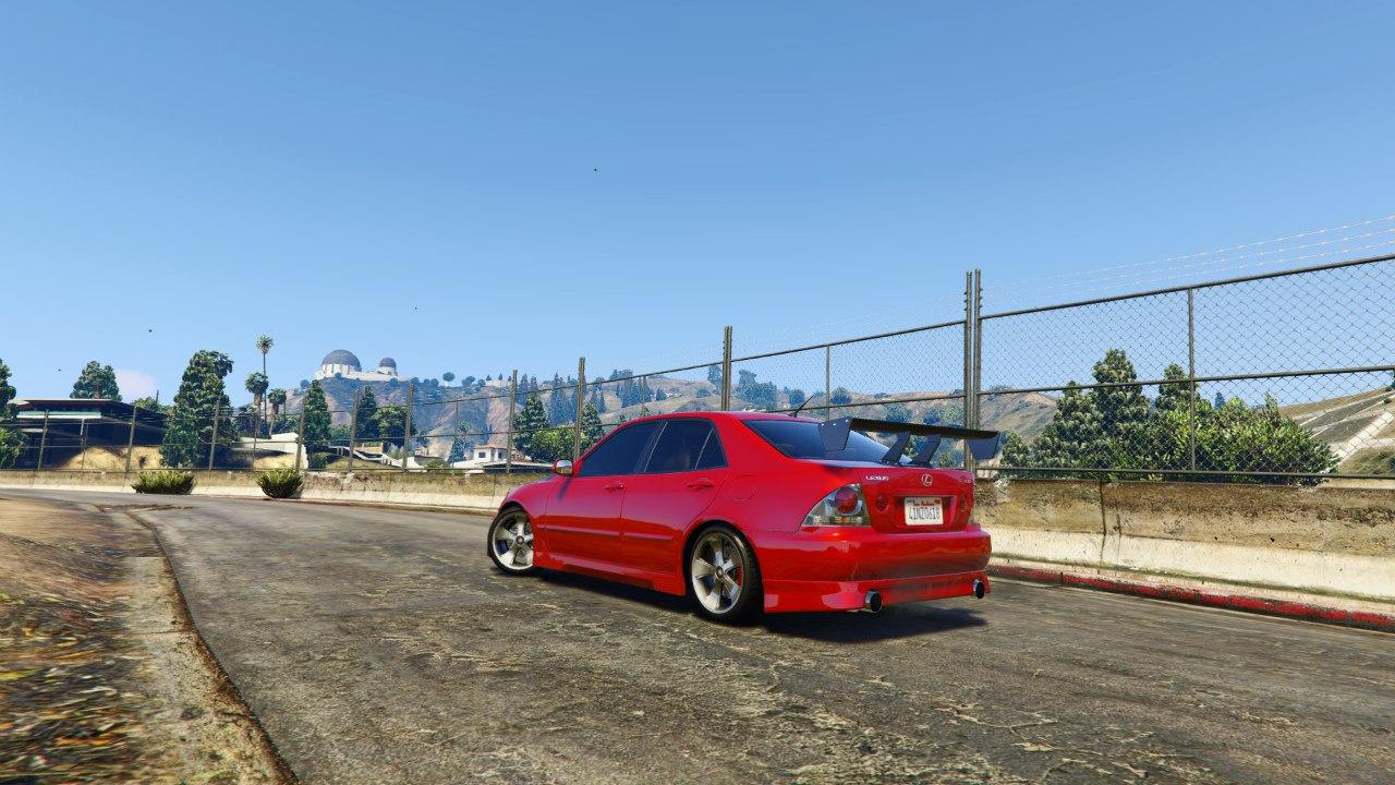 Lexus IS300 v1.0 для GTA V - Скриншот 3