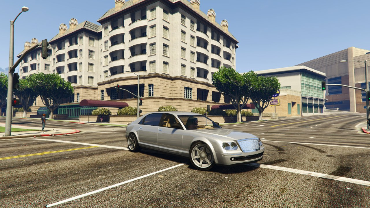 Cognoscenti from GTA 4 (Maybach style) для GTA V - Скриншот 1