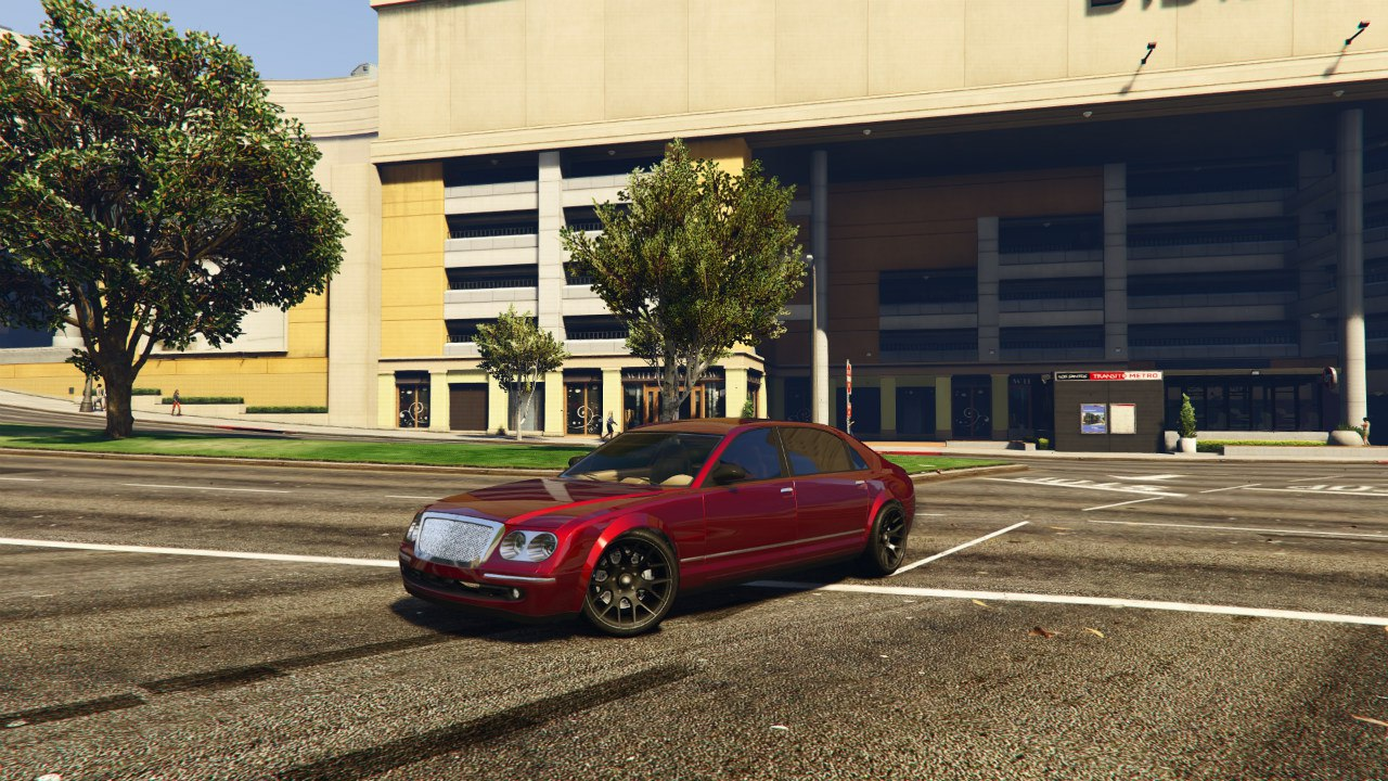 Cognoscenti from GTA 4 (Maybach style) для GTA V - Скриншот 3