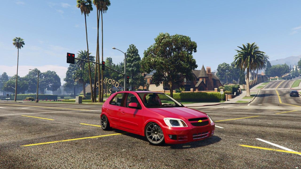 Chevrolet Celta v1.0 для GTA V - Скриншот 1