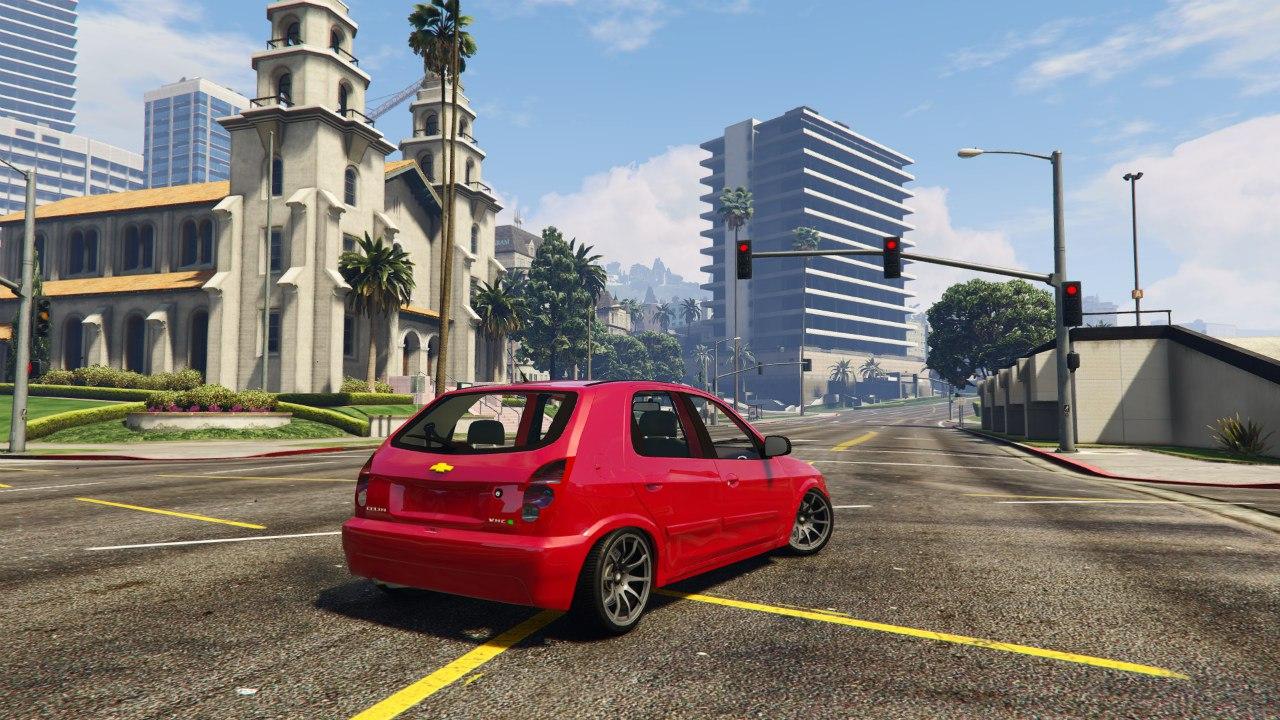 Chevrolet Celta v1.0 для GTA V - Скриншот 2