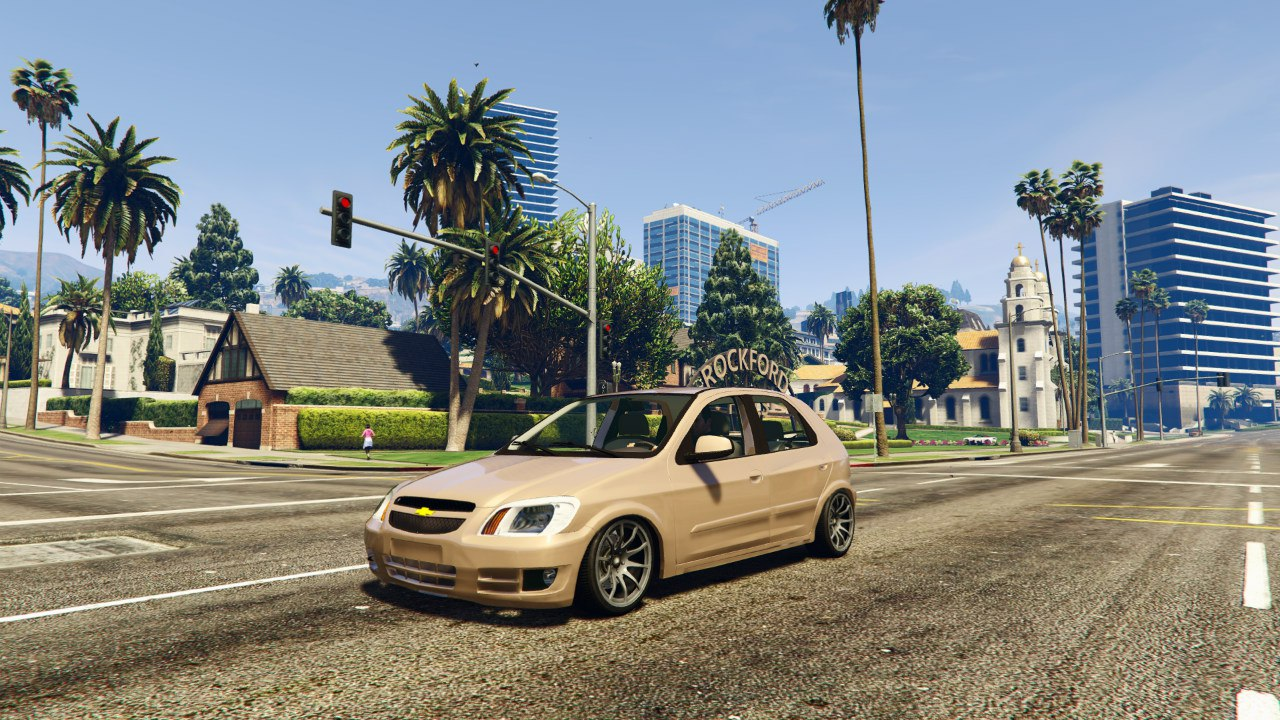 Chevrolet Celta v1.0 для GTA V - Скриншот 3